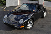 1997 Porsche 911 Carrera 993 911 Cabriolet Triple Black 6-Speed 38k